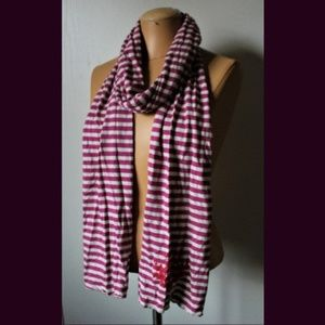 Victoria's Secret PINK Extra Long Striped Scarf